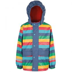 Frugi Rainbow Puddle Coat