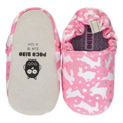 Poco Nido Pink Rabbits Shoes