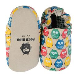 Poco Nido Rainbow Owls Shoes