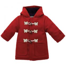 Red Butterfly Duffle Coat