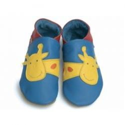 Starchild Blue Giraffe Leather Shoes