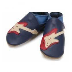 Starchild Blue Guitar Leather Shoes