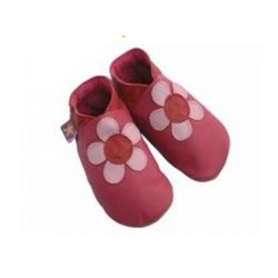 Starchild Fuschia Poppy Leather Shoes