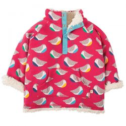 Frugi Rainbow Robins Snuggle Fleece