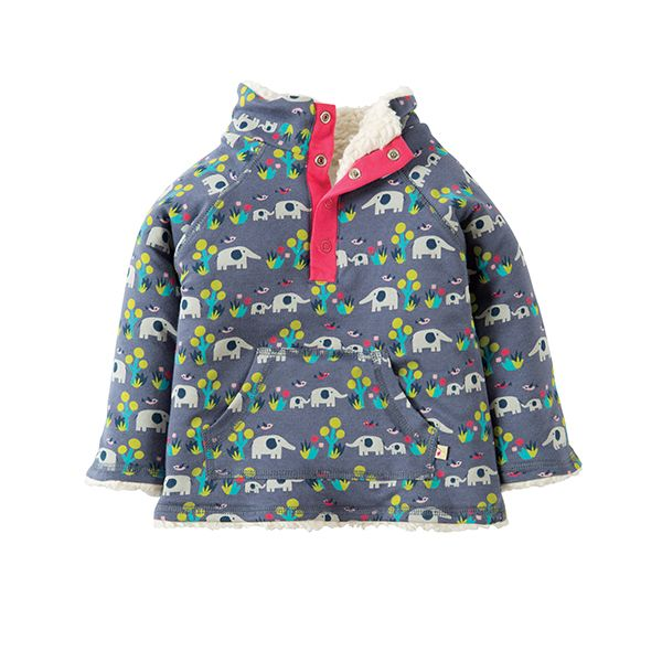 Frugi Elly Savanna Snuggle Fleece