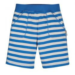 Frugi Cobalt Blue Stripe Shorts
