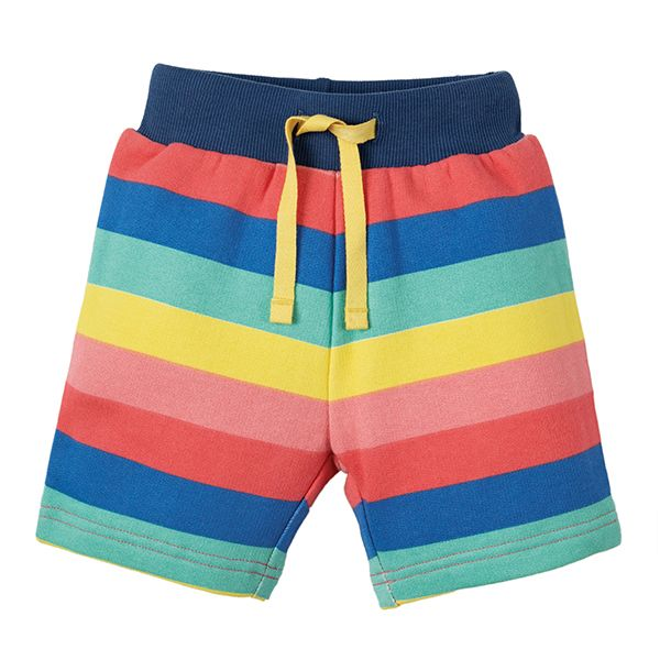 Frugi Little Sydney Rainbow Shorts