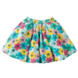 Frugi Holly Spotty Poppy Skirt