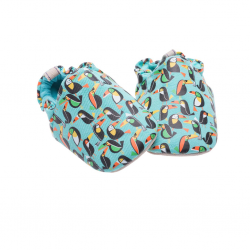 Poco Nido Toucan Print Shoes
