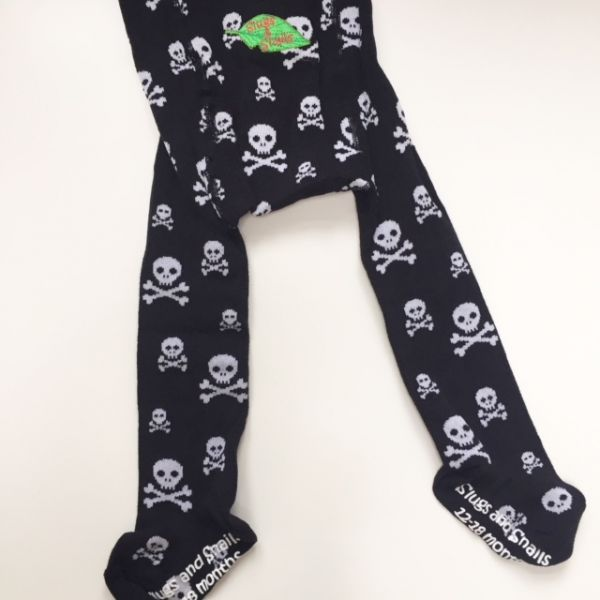 Slugs & Snails Skulls Tights