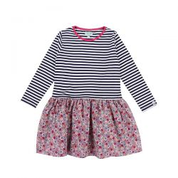 Lilly & Sid Ditsy Stripe Dress