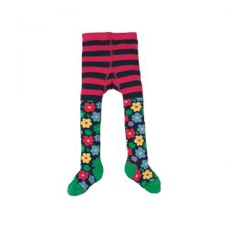 Frugi Little Nora Flower Pop Tights
