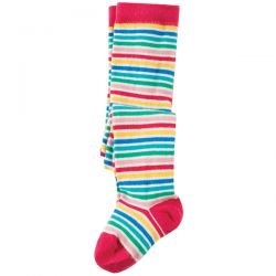 Frugi Little Norah Fine Stripe Tights