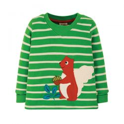 Frugi Easy On Squirrel Top