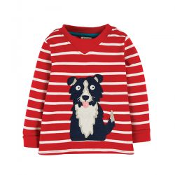 Frugi Easy On Dog Top