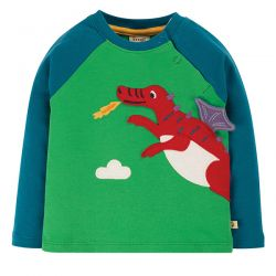Frugi Little Albert Dragon Top