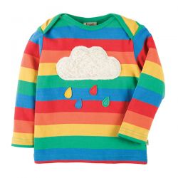 Frugi Bobby Rainbow Cloud Top