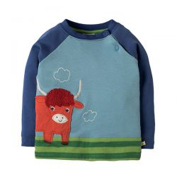 Frugi Highland Cow Top