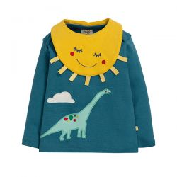 Frugi Bits & Bobs Dino Top Set