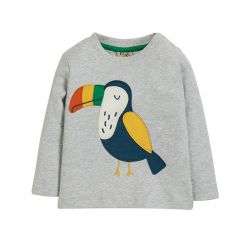 Frugi Little Discovery Toucan Top
