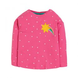 Frugi Bethany Boxy Star Top