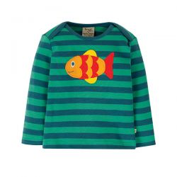Frugi Bobby Stripe Fish Top