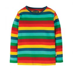 Frugi Favourite Blue Multi Stripe Top