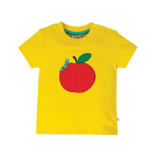 Frugi Playdate Apple Tee