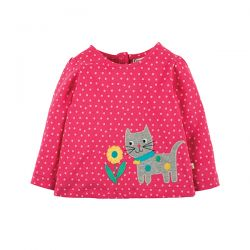 Frugi Connie Spot Cat Top