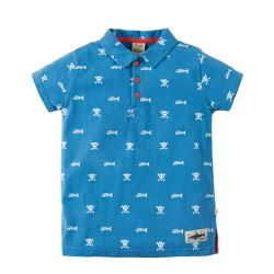 Frugi Penwith Skull Polo Shirt