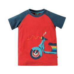 Frugi Rafe Raglan Scooter Top