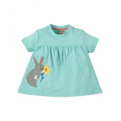 Frugi Eva Rabbit Applique Tunic