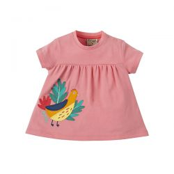 Frugi Eva Pheasant Applique Tunic
