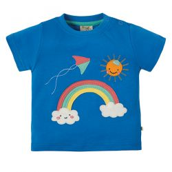 Frugi Little Creature Rainbow T-Shirt