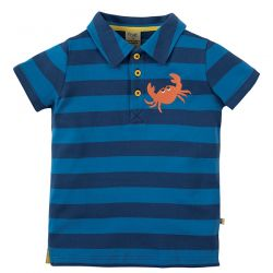 Frugi Penwith Crab Polo Shirt
