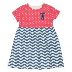 Kite Wavy Polka Dress