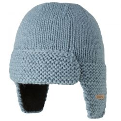 Barts Blue Earflap Lined Hat