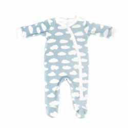 LKC Blue Cloud Babygrow