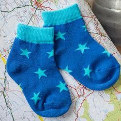 Blade & Rose 2 Pack Blue Socks