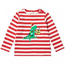 Piccalilly Christmas Dino Top