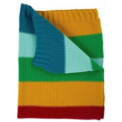 Frugi Rainbow Cuddle Blanket