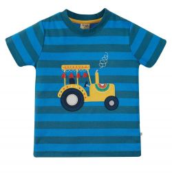 Frugi Sid Tractor T-Shirt