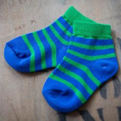 Blade & Rose 2 Pack Blue Green Socks