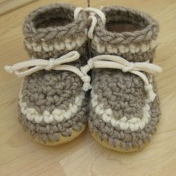 Padraig Cottage Grey Stripe Slippers