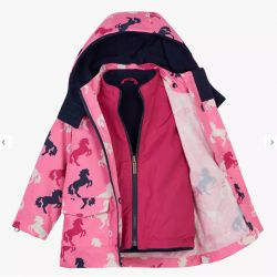 Hatley Playful Unicorns Winter Coat