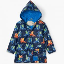 Hatley Colour Change Dragons Raincoat