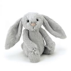 Jellycat Medium Silver Bunny