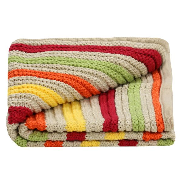 Lilly & Sid Unisex Chunky Knit Blanket