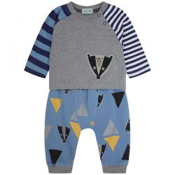 Lilly & Sid Badger Jogger Set