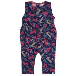 Lilly & Sid Bunny Cord Dungaree